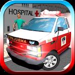 Ambulance Simulator 2014 3D Icon