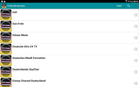 TV Sat Info Germany 1 0 8 Apk, Free Video Players & Editors