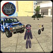 Stickman Rope Hero Vegas Mafia Crime Simulator