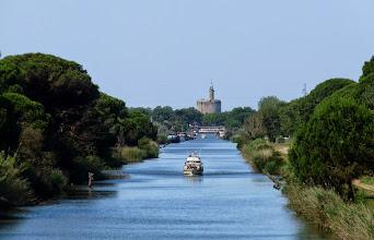 Photo: le canal du Rhône à Sète