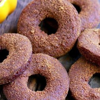 Pumpkin Spice Donuts (gluten, grain, nut, and dairy free)