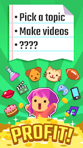 Vlogger Go Viral – Tuber Game Apk MOD (Unlimited Gems) 5