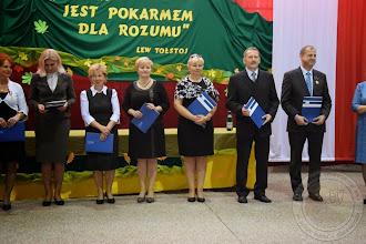 Photo: Wojewódzkie obchody Dnia Edukacji Narodowej 2014 - Nagroda Kuratora P. T. Włodarczyk