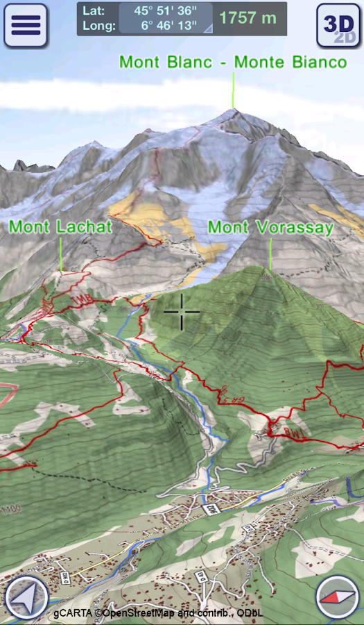 GeoFlyer Europe 3D - Offline Maps GPS Routing- screenshot