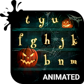 Halloween Animated Keyboard