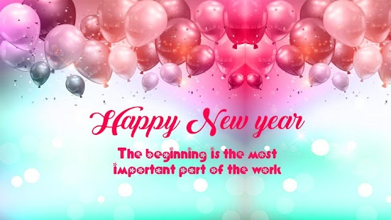 2018 Happy New Year Greetings - Android Apps on Google Play