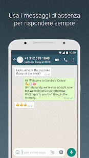 WhatsApp Business Screenshot whatsapp business - WfkITFF2A4aGZwEMbDpGFCpBlDzH qqXS9TGPm4O3f0jOKTqqOCc74bx Ba9oAPECUc h310 - WhatsApp business: scopriamo come funziona