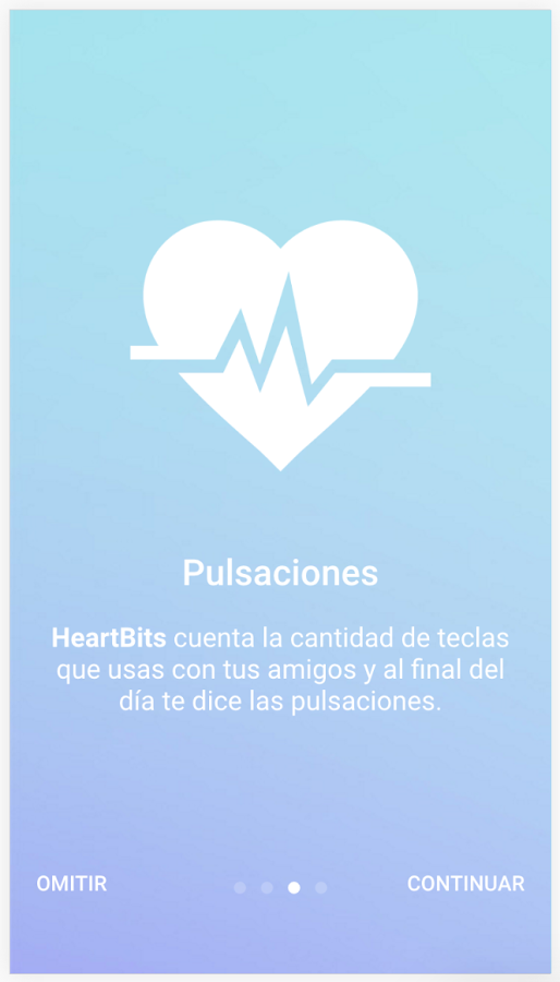 Heartbits: captura de pantalla