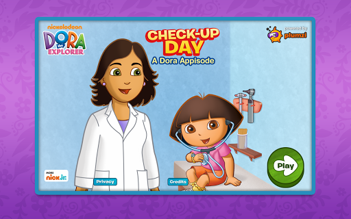 Dora Appisode: Check-Up Day