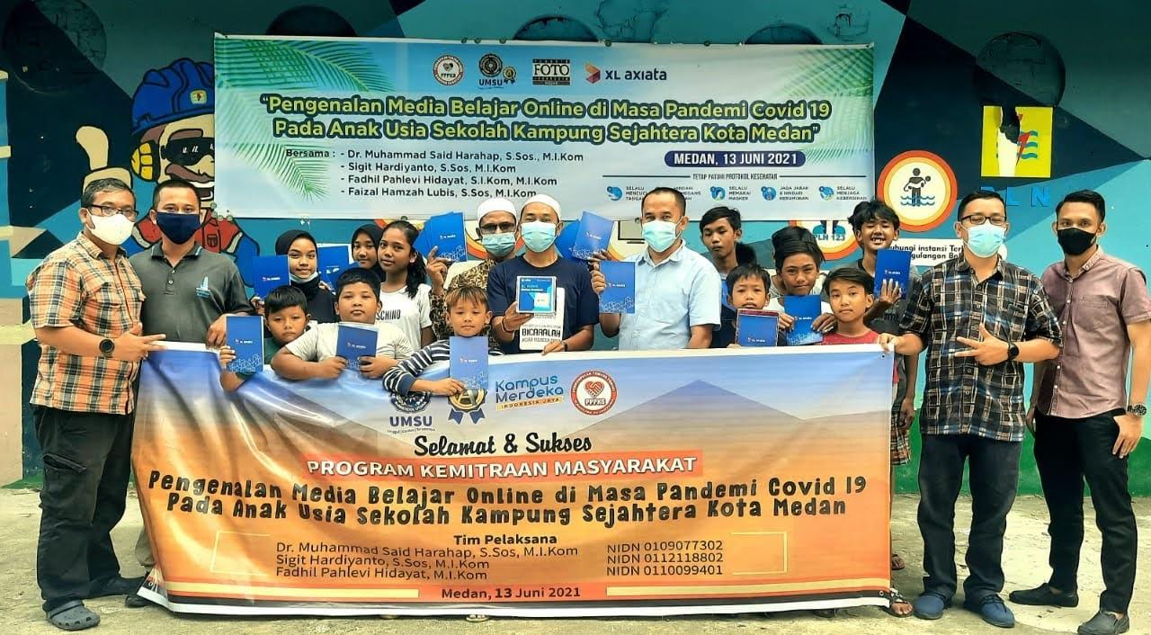 Pengenalan Media Belajar Online Tingkatkan Mutu Pendidikan Anak-Anak di Kampung Sejahtera Medan