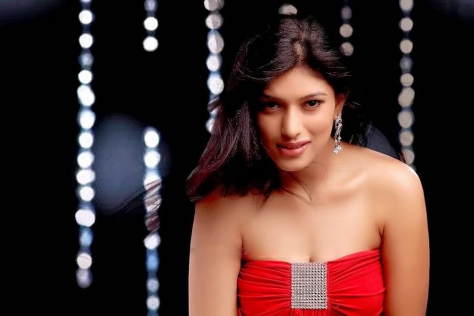 Divya Bhandari in red