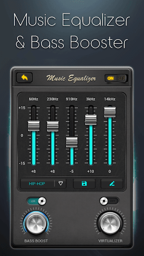 Equalizer - Music Bass Booster screenshot 3