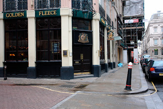 "Photo: ""The Golden Fleece"", City of London."