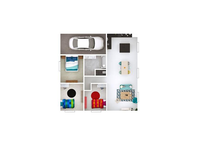 Vente maison 4 pièces 84 m² à Saint-Cyr-sur-Menthon (01380), 205 000 €