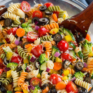 Garden Veggie Pasta Salad Recipe