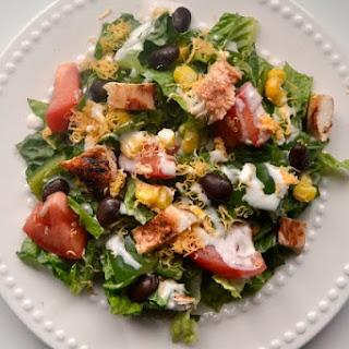 Barbeque Chicken Mason Jar Salads