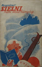 Photo: Magaziner. Sielni nem boszorkányság (Faire du ski, ce n'est pas sorcier !), 1935. Illustrations Mallasz Dallos