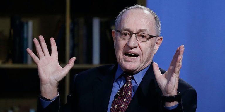 Dershowitz warns Trump's legal team about Mueller