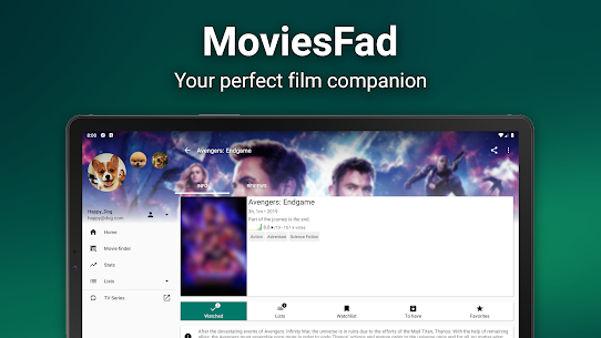 MoviesFad – Your movie manager App Download For Android 7