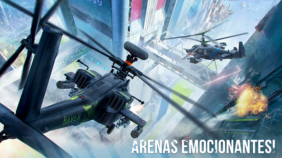 Modern War Choppers Wargame Shooter PvP Warfare apk