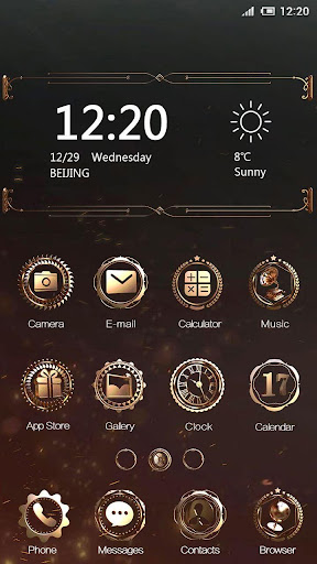Mechanical Hola Launcher Theme