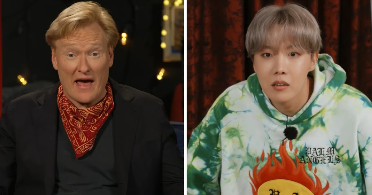 """American Talk Show Host Conan Reacts To His Appearance On The Latest Episode Of BTS's """"Run BTS!"""""""