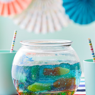 Jello and Gummy Candy Fishbowl Recipe
