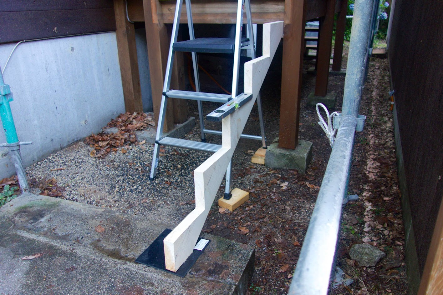 Rebuilding Porch Steps
