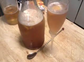 Ginger Peach-mango Beer Cooler Recipe