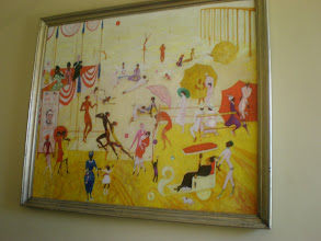 Photo: painting by Georgia O'Keefe given to Fisk.
