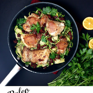 Chicken Scallopini (with Zoodles)