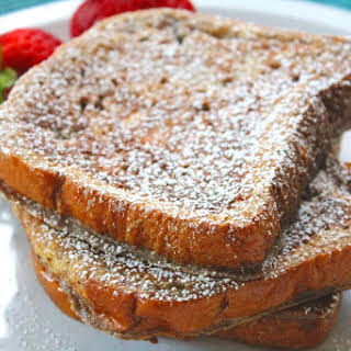 Brioche French Toast - No Syrup Required.
