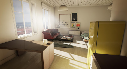 Studio Apartment Archviz