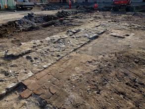 Photo: Přerov. Na Marku. Celkový pohled od severovýchodu na část zachovalé renesanční podlahy. (foto. Z. Schenk).