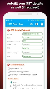 Quick Tatkal – Rail Connect & Website Autofill App Download For Android 8