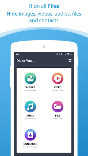 Dialer vault I Hide Photo Video App OS 11 phone 8 for PC