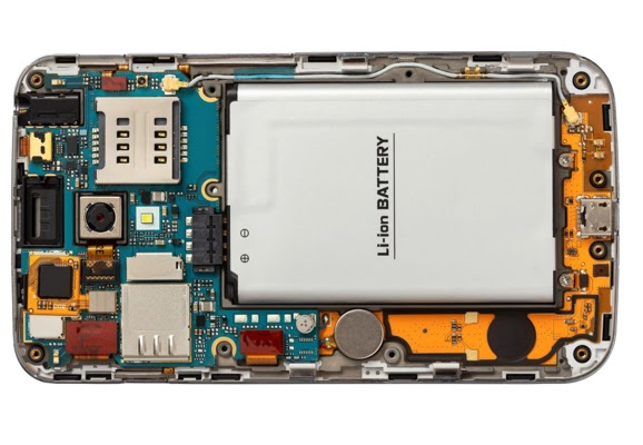 Mobile Phone Printed Circuit Board with many components