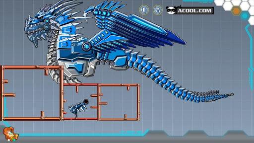 Toy Robot War:Robot Ice Dragon