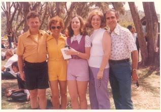 Photo: Julie Platt and Family in Ramah California