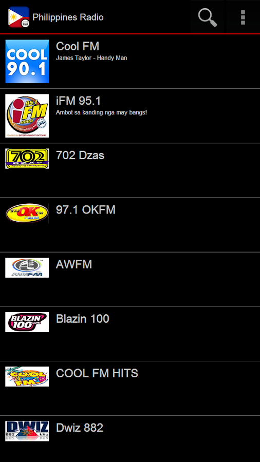 Philippines Radio- screenshot