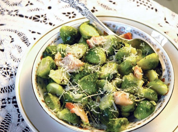 Cheesy Brussel Sprouts Recipe