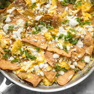 Green Chile Migas.