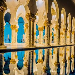 Abu Dhabi by Manoj Kumar Kd - Buildings & Architecture Places of Worship
