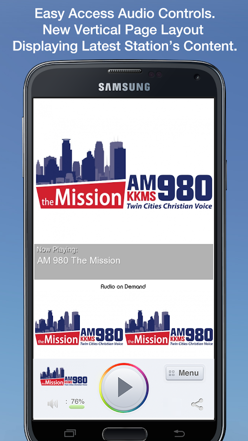 AM 980 The Mission - screenshot