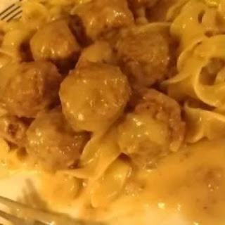 Swedish Meatballs (no sour cream)
