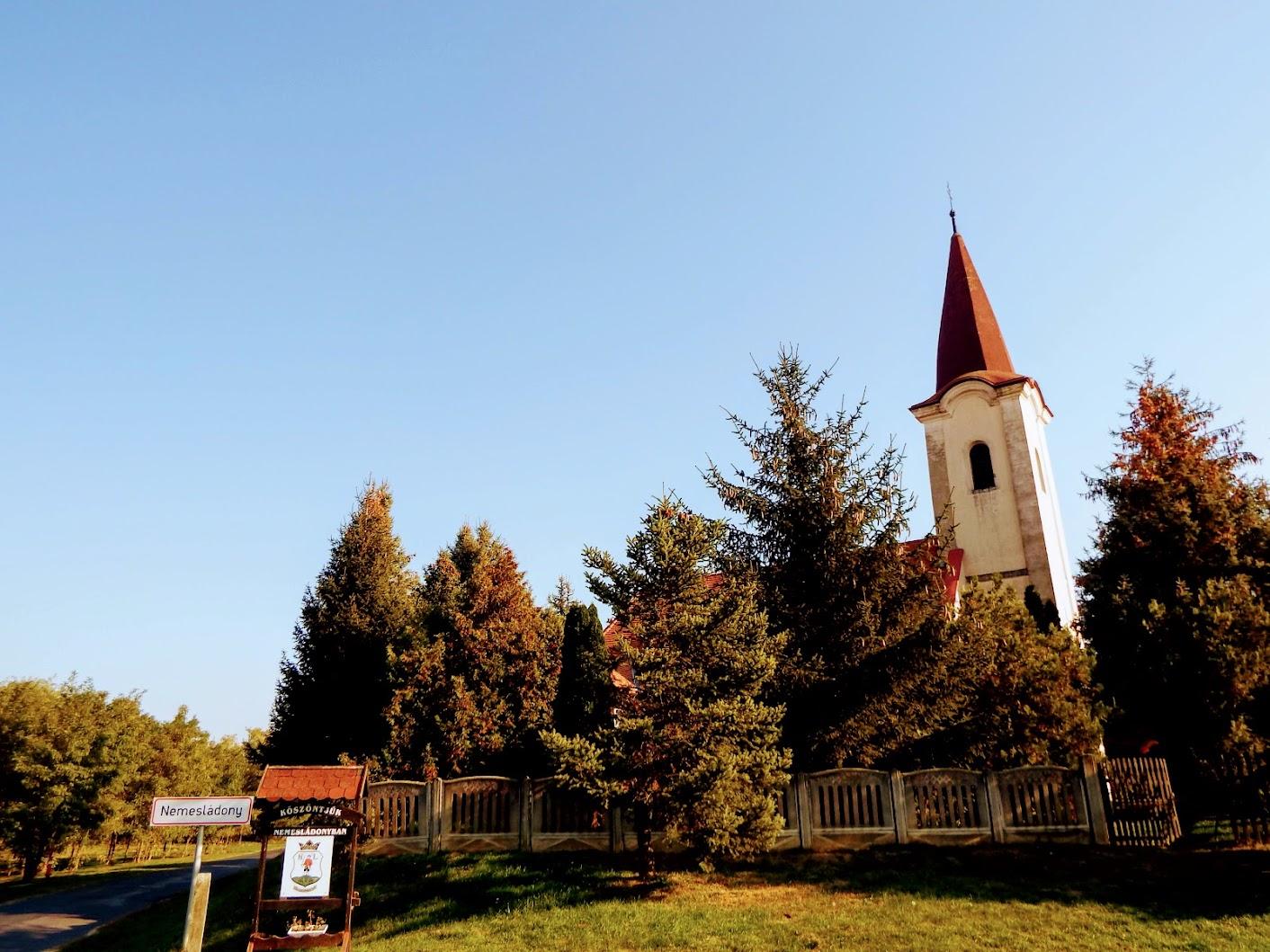 Nemesládony - Szent Miklós rk. templom