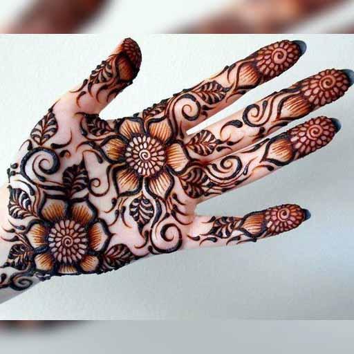 Simple Gol Tikka Mehndi Designs Rose Henna Apk Download Apkpure Co