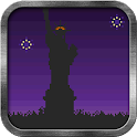 8 Bit New York Live Wallpaper icon