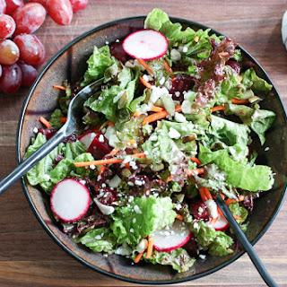 Red Salad with Lemony Vinaigrette