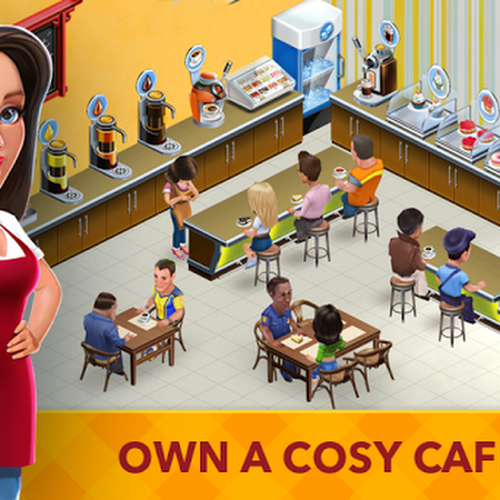 My Cafe: Recipes & Stories v2017.6 [Mod Money] Apk Mod + Data